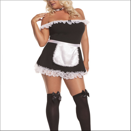 Sexy Maid-4 pc. Costume