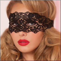 Galloon Lace Eye Mask