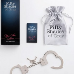 Fifty Shades of Grey™ You are all Mine Metal Handcuffs