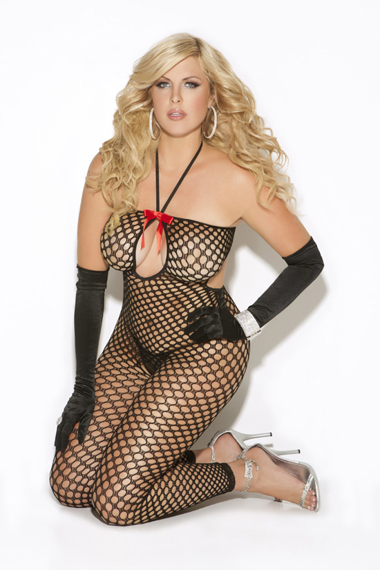 Hosiery, Plus Size Bodystocking