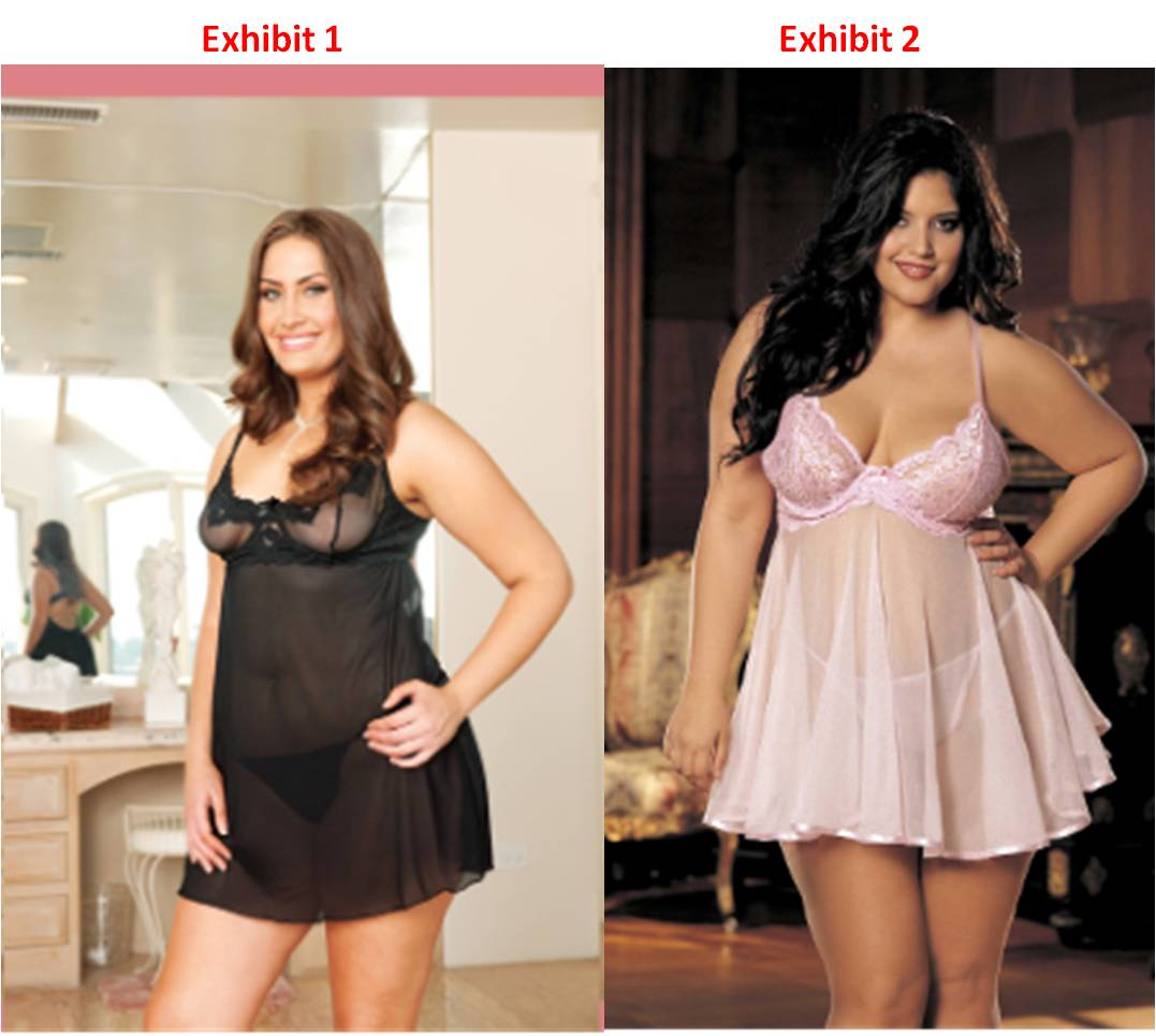 Plus Size Baby Doll and the Different Shapes